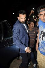 Zaheer Khan at Bobby Deol_s birthday party at his home in juhu on 27th Jan 2019 (58)_5c500534043fb.JPG