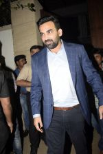 Zaheer Khan at Bobby Deol_s birthday party at his home in juhu on 27th Jan 2019 (79)_5c50053c278b6.JPG