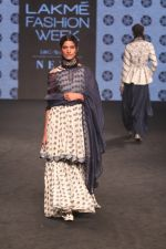 Model walk the Ramp on Day 5 at Lakme Fashion Week 2019 on 3rd Feb 2019