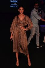 Sonal Chauhan walk the Ramp on Day 5 at Lakme Fashion Week 2019 on 3rd Feb 2019