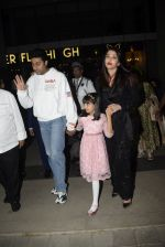 Abhishek Bachchan, Aishwarya Rai Bachchan, Aaradhya Bachchan spotted at bkc post dinner on Abhishek_s birthday on 5th Feb 2019 (46)_5c5a9fa2d00c0.JPG