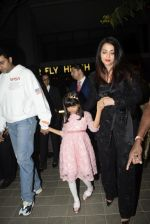 Abhishek Bachchan, Aishwarya Rai Bachchan, Aaradhya Bachchan spotted at bkc post dinner on Abhishek_s birthday on 5th Feb 2019 (49)_5c5a9f5a3fd12.JPG