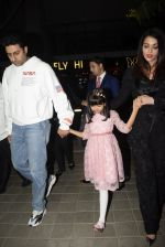 Abhishek Bachchan, Aishwarya Rai Bachchan, Aaradhya Bachchan spotted at bkc post dinner on Abhishek_s birthday on 5th Feb 2019 (51)_5c5a9f5c3c8dd.JPG