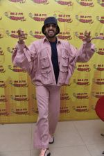 Ranveer Singh at Radio Mirchi studio for the promotions of film Gully Boy on 4th Feb 2019