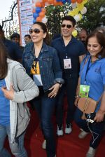 Madhuri Dixit flags off the Half Marathon with over 4000 plus mumbaikars for fitter mumbai on 11th Feb 2019 (19)_5c612f754dbd9.jpg