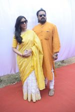 Sakshi Tanwar at Saraswati pujan at Anurag Basu_s house in goregaon on 10th Feb 2019 (10)_5c61306d88787.jpg