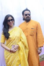 Sakshi Tanwar at Saraswati pujan at Anurag Basu_s house in goregaon on 10th Feb 2019 (12)_5c6130711b08e.jpg