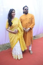 Sakshi Tanwar at Saraswati pujan at Anurag Basu_s house in goregaon on 10th Feb 2019 (7)_5c613067d61c1.jpg