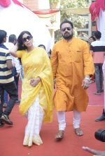Sakshi Tanwar at Saraswati pujan at Anurag Basu_s house in goregaon on 10th Feb 2019 (8)_5c61306a13e07.jpg
