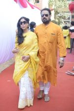 Sakshi Tanwar at Saraswati pujan at Anurag Basu_s house in goregaon on 10th Feb 2019 (9)_5c61306bbdf79.jpg