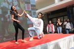 Kartik Aaryan at the launch of new song from the film Luka Chuppi at nm College in Parle on 12th Feb 2019
