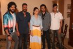 Madhuri Dixit, Anil Kapoor, Riteish Deshmukh, Ajay Devgan, Indra Kumar at the promotion of film Total Dhamaal in Sun n Sand juhu on 13th Feb 2019 (30)_5c652efe64f9f.jpg