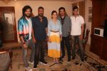 Madhuri Dixit, Anil Kapoor, Riteish Deshmukh, Ajay Devgan, Indra Kumar at the promotion of film Total Dhamaal in Sun n Sand juhu on 13th Feb 2019 (33)_5c652f2b3615d.jpg
