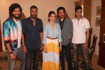 Madhuri Dixit, Anil Kapoor, Riteish Deshmukh, Ajay Devgan, Indra Kumar at the promotion of film Total Dhamaal in Sun n Sand juhu on 13th Feb 2019 (35)_5c652f0a0ad13.jpg