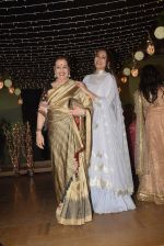 Poonam Sinha at Sonakshi Sinha's wedding reception in four bungalows, andheri on 17th Feb 2019
