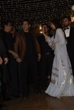 Salman Khan at Sonakshi Sinha's wedding reception in four bungalows, andheri on 17th Feb 2019