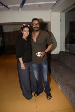 Kajol, Ajay Devgan at Total dhamal screening in sunny sound juhu on 21st Feb 2019 (10)_5c6fb188288da.jpg