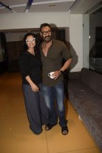 Kajol, Ajay Devgan at Total dhamal screening in sunny sound juhu on 21st Feb 2019 (2)_5c6fb1801f5c9.jpg