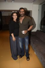 Kajol, Ajay Devgan at Total dhamal screening in sunny sound juhu on 21st Feb 2019 (7)_5c6fb1838d7ec.jpg