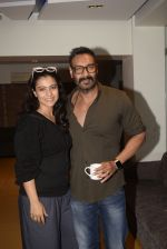 Kajol, Ajay Devgan at Total dhamal screening in sunny sound juhu on 21st Feb 2019 (9)_5c6fb18564003.jpg