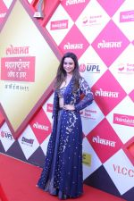 Soundarya Sharma at Lokmat Maharashtrian of the Year Awards at NSCI worli on 20th Feb 2019 (5)_5c6fa69c281c3.jpg