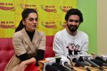 Taapsee Pannu, Singer Amaal Malik at the Song Launch Of Movie Badla on 20th Feb 2019 (3)_5c6fa262143c5.jpg