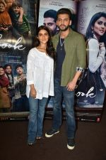 Zaheer Iqbal and Pranutan Bahl at trailer preview of Notebook on 21st Feb 2019 (22)_5c6fb0ad6ee34.jpg