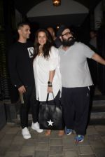 Neha Dhupia, Angad Bedi spotted at Soho House juhu on 26th Feb 2019 (16)_5c76467e56604.jpg