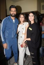 Vicky Kaushal, Sara Ali Khan, Ananya Pandey at the Screening of film Sonchiriya at pvr juhu on 27th Feb 2019 (89)_5c7784d5d8821.jpg