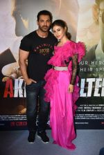 John Abraham,Mouni Roy at trailer launch of film Romeo Akbar Walter (Raw) on 5th March 2019