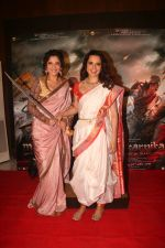 Kangana Ranaut, Ankita Lokhande at the Success party of Manikarnika on 6th March 2019 (110)_5c80d1d24e481.jpg