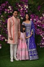 Aishwarya Rai Bachchan, Abhishek Bachchan, Aaradhya Bachchan at Akash Ambani & Shloka Mehta wedding in Jio World Centre bkc on 10th March 2019 (10)_5c8764fba7b2b.jpg