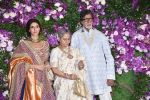 Amitabh Bachchan, Jaya Bachchan, Shweta Nanda at Akash Ambani & Shloka Mehta wedding in Jio World Centre bkc on 10th March 2019 (29)_5c87686832645.jpg