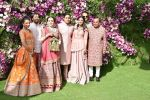 Nita Ambani, Mukesh Ambani, Akash, Isha and Anant Ambani at Akash Ambani & Shloka Mehta wedding in Jio World Centre bkc on 10th March 2019 (25)_5c876c564ea39.jpg