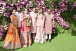 Nita Ambani, Mukesh Ambani, Akash, Isha and Anant Ambani at Akash Ambani & Shloka Mehta wedding in Jio World Centre bkc on 10th March 2019 (26)_5c876c579ae02.jpg