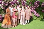 Nita Ambani, Mukesh Ambani, Akash, Isha and Anant Ambani at Akash Ambani & Shloka Mehta wedding in Jio World Centre bkc on 10th March 2019 (28)_5c876c5909a20.jpg