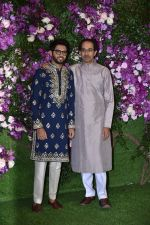 Uddhav Thackeray, Aditya Thackeray at Akash Ambani & Shloka Mehta wedding in Jio World Centre bkc on 10th March 2019 (6)_5c877079361ec.jpg