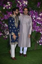 Uddhav Thackeray, Aditya Thackeray at Akash Ambani & Shloka Mehta wedding in Jio World Centre bkc on 10th March 2019 (8)_5c87707ba9702.jpg