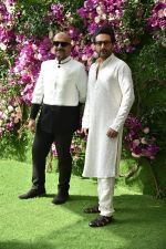Vishal Shekhar at Akash Ambani & Shloka Mehta wedding in Jio World Centre bkc on 10th March 2019 (32)_5c8771170cadb.jpg