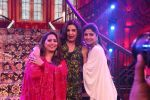Farah Khan, Shilpa Shetty, Geeta Kapoor on the sets of Super Dancer Chapter 3 on 11th Jan 2019