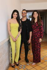 Vidyut Jamwal, Pooja Sawant & Asha Bhat spotted at Sun n Sand as they promote thier upcoming film Junglee on 11th March 2019