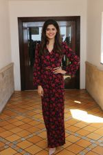 Asha Bhat spotted at Sun n Sand as they promote thier upcoming film Junglee on 11th March 2019