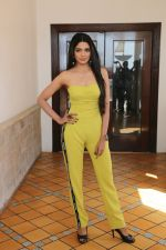 Pooja Sawant spotted at Sun n Sand as they promote thier upcoming film Junglee on 11th March 2019
