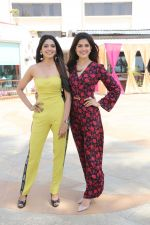 Pooja Sawant, Asha Bhat spotted at Sun n Sand as they promote thier upcoming film Junglee on 11th March 2019
