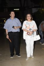 Randhir Kapoor, Babita at Karishma Kapoor's son Kiaan's birthday party in club bandra on 12th March 2019