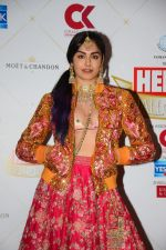 Adah Sharma at the Hello Hall of Fame Awards in St Regis hotel on 18th March 2019