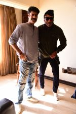 Jackie Shroff, Sikander Kher during the promotions of film Raw at Sun n Sand in juhu on 18th March 2019 (16)_5c90992a13770.jpg