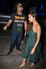 Arjun Kapoor & Malaika Arora spotted at Hakkasan Bandra on 19th March 2019  (1)_5c91e79b42edf.JPG