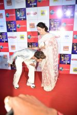 Hema Malini at Zee cine awards red carpet on 19th March 2019