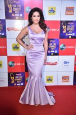Sunny Leone at Zee cine awards red carpet on 19th March 2019